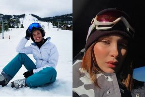 Zobacz jak modelki Victoria's Secret ubierają się podczas wypadu na narty!