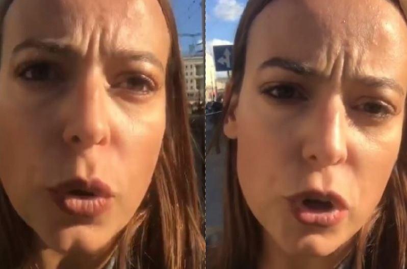 Anna Mucha i Marcek Sora zaatakowani w centrum Warszawy