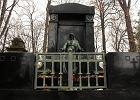 Nowa furtka przy nagrobku rodziny Vogel na Cmentarzu Ewangelicko-Augsburskim