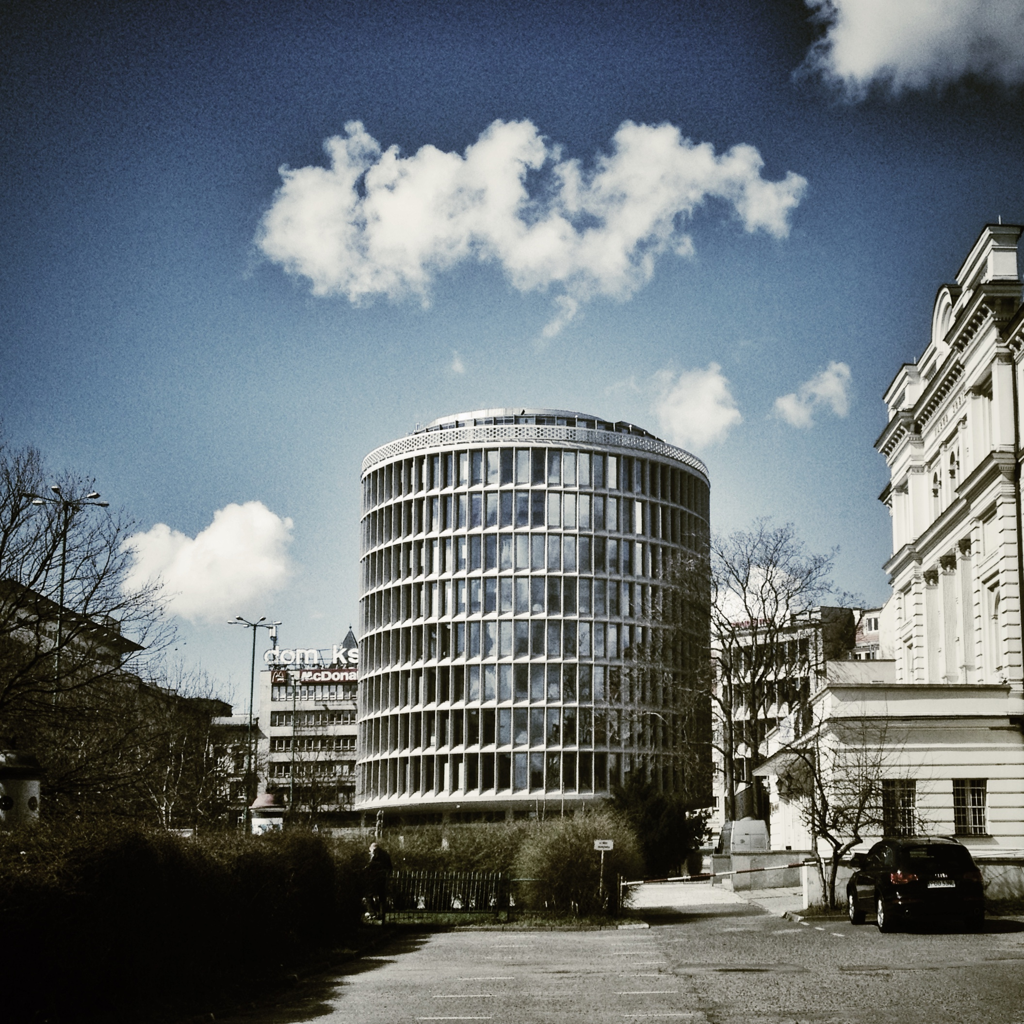 Autorem projektu Okrąglaka jest architekt Marek Leykam(fot. Filip Springer)