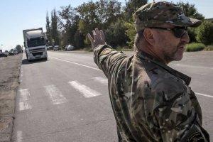 Tatarzy zablokowali dostawy �ywno�ci na okupowany przez Rosj� Krym. Bezterminowo