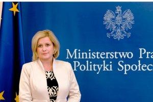 Wiceminister pracy ranna w wypadku w Krakowie