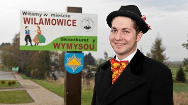 Tymoteusz Król z Wilamowic, propagator języka wilamowskiego