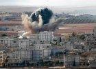 Kobane w ogniu. Walki o miasto nie ustaj�. Islami�ci: Mamy 50 proc. Kurdowie: Mamy 70 proc.
