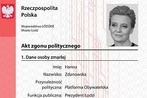 Młodzież Wszechpolska wystawia akty zgonu politycznego 11 prezydentom miast Polski. W zemście za uchodźców
