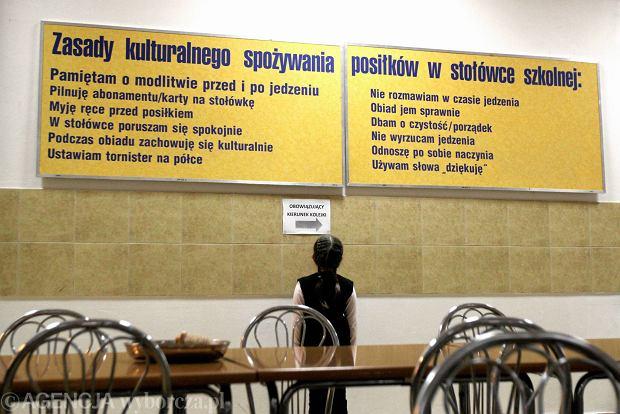 Modlitwa ze szkolnej tablicy. Spraw� bada rzecznik praw obywatelskich