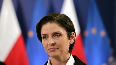 Joanna Mucha - Rzeczniczka Sztabu Wyborczego Platformy Obywatelskiej