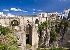 Hiszpania Ronda - miasto na klifie
