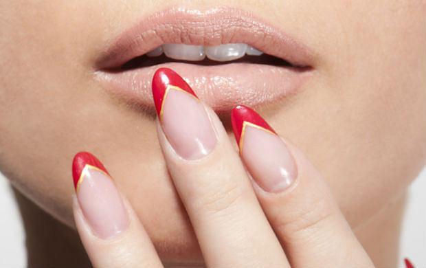 Pomys� na manicure: Lanomania na paznokciach