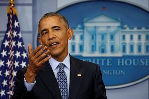 """Ostatnia konferencja Obamy. Pada pytanie o Trumpa, a Obama: """"Mam nadzieję, że pogoda dopisze"""""""