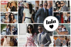 Amal Alamuddin, czyli �ona George'a Clooneya i jej pi�� stylizacji z Wenecji. Pani Clooney udowadnia, �e prawdziwa elegancja nigdy nie wychodzi z mody! [ZDJ�CIA]