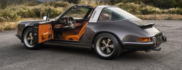 Goodwood Festival of Speed 2015   Porsche 911 Targa Singer