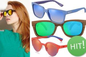 10 naj�adniejszych okular�w z lustrzanymi szk�ami
