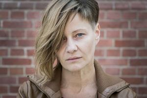 Małgorzata Kożuchowska na planie filmu 'Plagi Breslau' Patryka Vegi