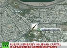 Atak na rosyjską ambasadę w Trypolisie. Padły strzały