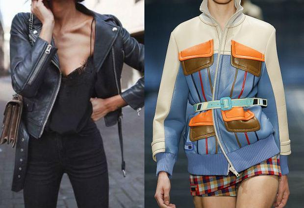 Kurtka skórzana inaczej - niestandardowe sposoby na modne okrycie