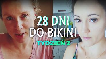 28 dni do bikini - tydzień 2. Dieta i ćwiczenia
