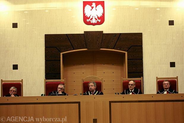 Posiedzenie Trybuna�u Konstytucyjnego