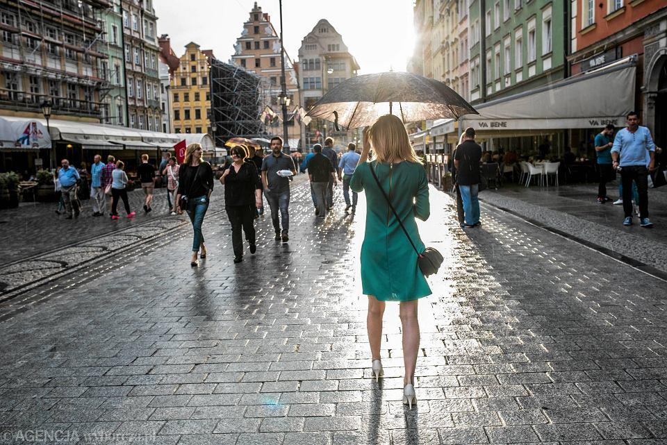 We Wrocławiu Będzie Dzisiaj Ciepło I Deszczowo Prognoza Pogody