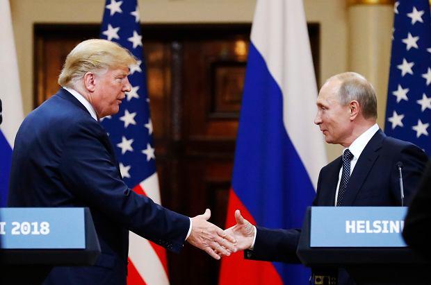 Zdjęcie numer 3 w galerii - Putin zaprasza Trumpa do Moskwy. Twierdzi, że rozmowy telefoniczne nie są wystarczające