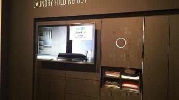 Laundroid na stoisku Panasonic podczas IFA 2016