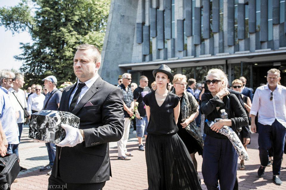 Pogrzeb Tomasza Stańki na warszawskich Powązkach Wojskowych