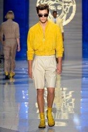 Styl: kolory lata. Versace, moda męska, styl, versace