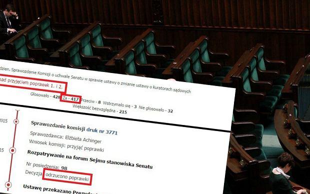 """Sejm uchwali� ustaw� niezgodn� z konstytucj�. """"Potrzebne weto prezydenta"""""""