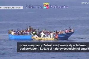 Łódź pełna imigrantów, pod pokładem 40 ciał