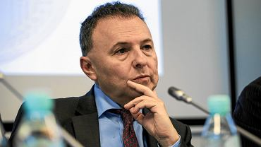 5 grudnia 2017, Warszawa. Prof. Witold Orłowski na konferencji 'Co dalej z Euro'.