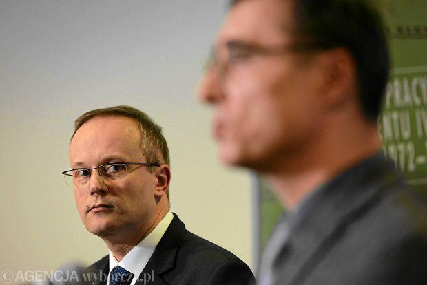�ukasz Kami�ski, prezes IPN i prokurator IPN Tomasz Kami�ski
