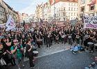 Czarny protest w obronie kobiet