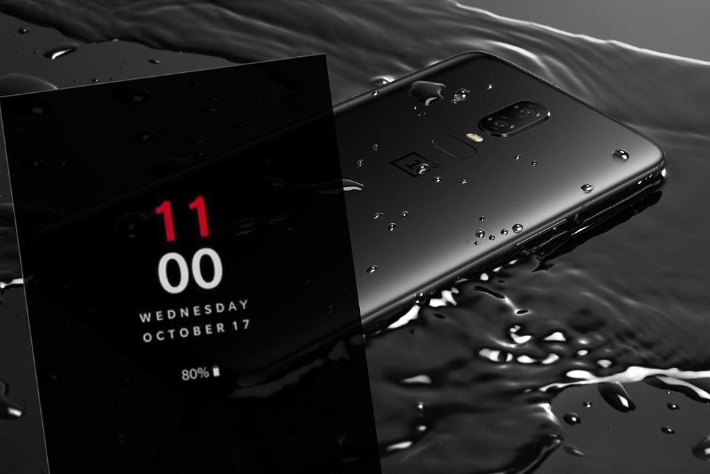 OnePlus 6T w październiku