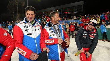 Stefan Horngacher, Grzegorz Sobczyk i Adam Małysz
