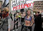 Feministki szukaj� m�czyzn. By walczy� z przemoc�