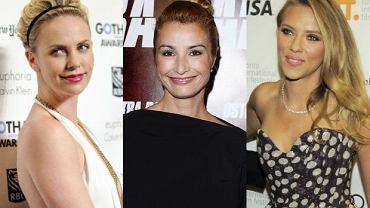 Joanna Brodzik, Scarlett Johansson i Charlize Theron