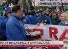 """Marsz gwiaździsty OPZZ w Warszawie. Demonstruje 30 tys. osób. ZNP: """"Joanna robi nas w balona"""""""