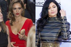 Jessica Alba, Kylie Jenner