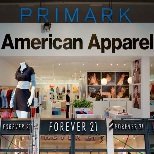Primark, American Apparel: 5 marek odzie�owych, kt�rych nie ma w Polsce