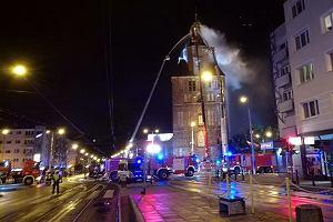 Pali się katedra w centrum Gorzowa! Trwa akcja straży pożarnej [AKTUALIZACJA]