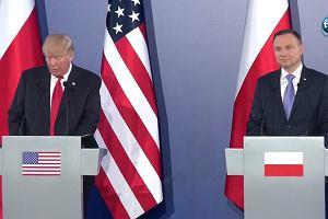 """""""Mam nadzieję, że dostarczymy Polsce więcej gazu. Być może tylko trochę podniesiemy ceny"""". D. Trump żartuje na konferencji"""