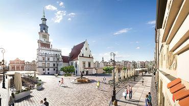 Koncepcja rewitalizacji Starego Rynku. Widok z ul. Rynkowej