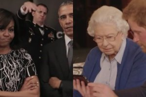 Michelle i Barack Obama, księżą Harryy, królowa Elżbieta