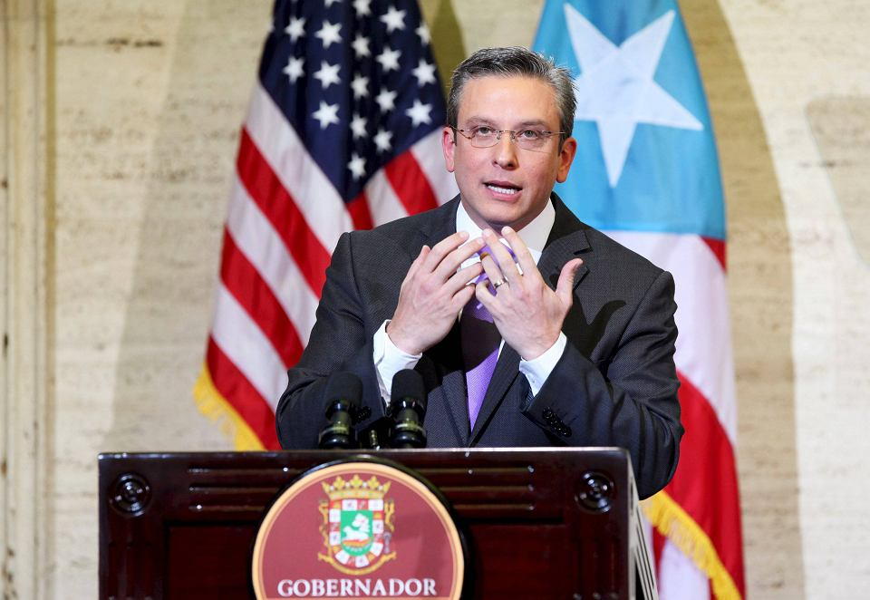 Gubernator Portoryko Javier Garcia Padilla