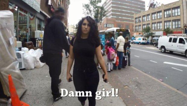 Kobieta na ulicach Nowego Jorku