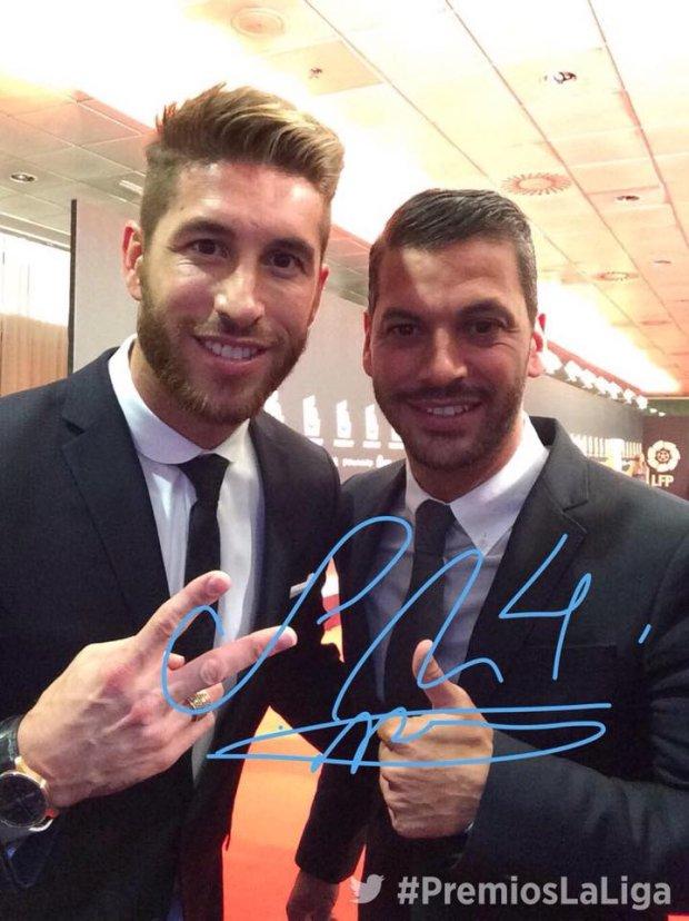Sergio Ramos z bratem