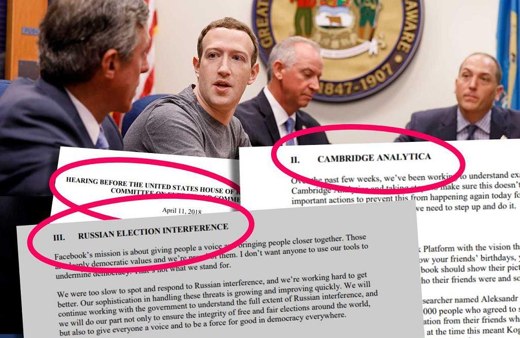 Mark Zuckerberg będzie bronił Facebooka przed amerykańskim kongresem