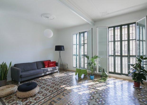 Wnetrza: mieszkanie w Barcelonie