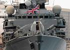 Brytyjska marynarka przygotowuje si� do ewentualnego ataku na Syri�