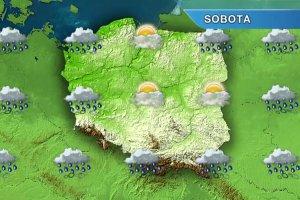 W weekend pogoda nie dopisze. Zachmurzenia i przelotne opady deszczu nad ca�� Polsk� [PROGNOZA POGODY]
